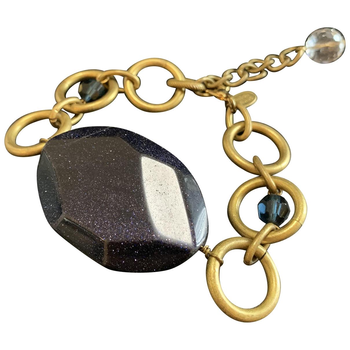 Anton Heunis \N Armband in  Gold Kristall