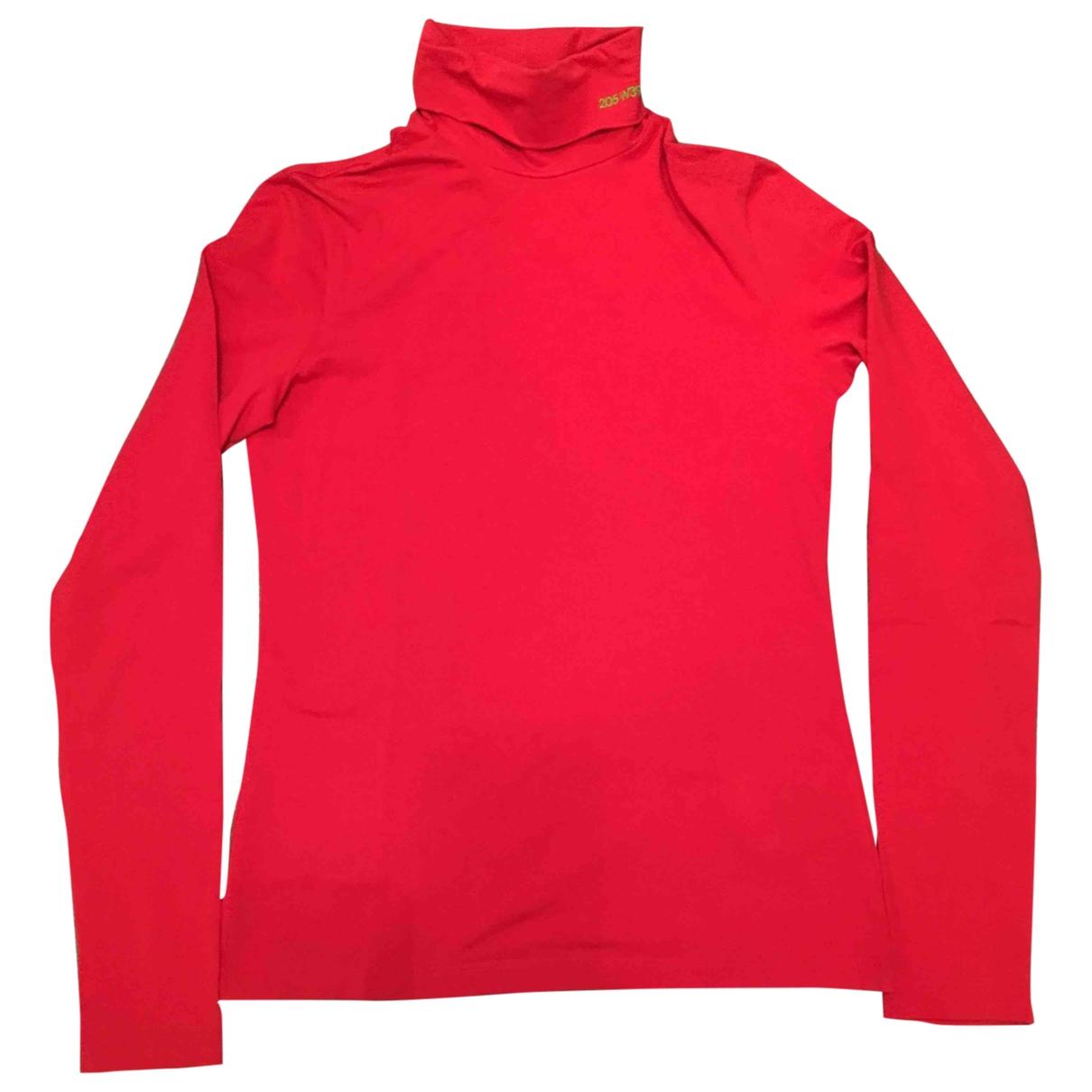 Calvin Klein 205w39nyc \N Red Cotton  top for Women S International