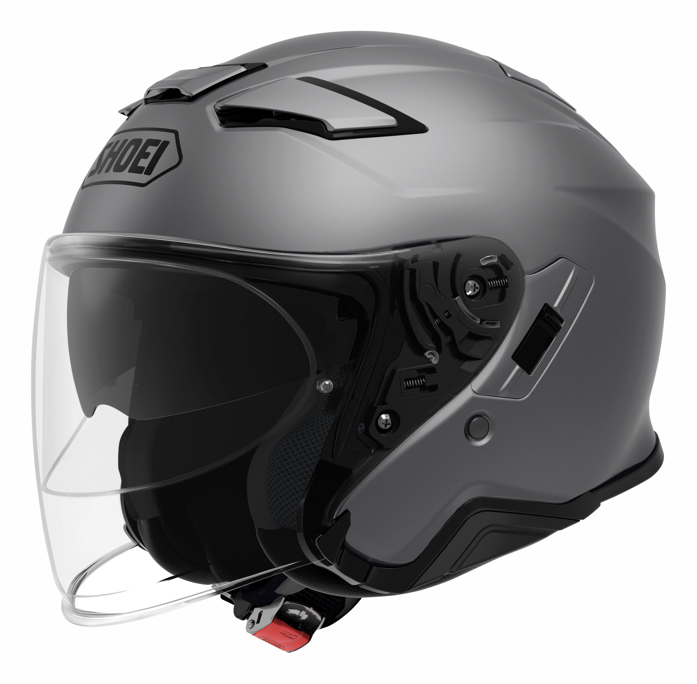 Shoei J-Cruise II Casco Jet Mate Gris Oscuro M