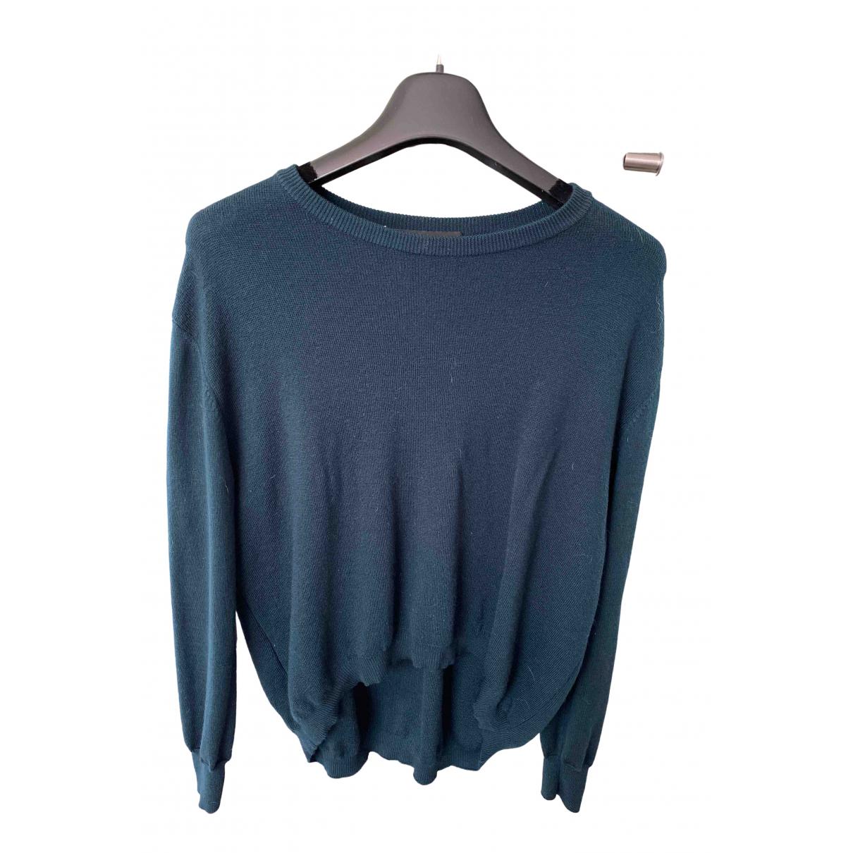 Cedric Charlier - Pull   pour femme en laine - vert