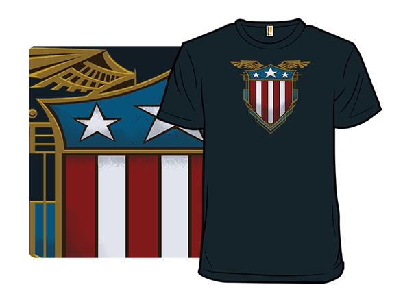 Vintage Shield T Shirt