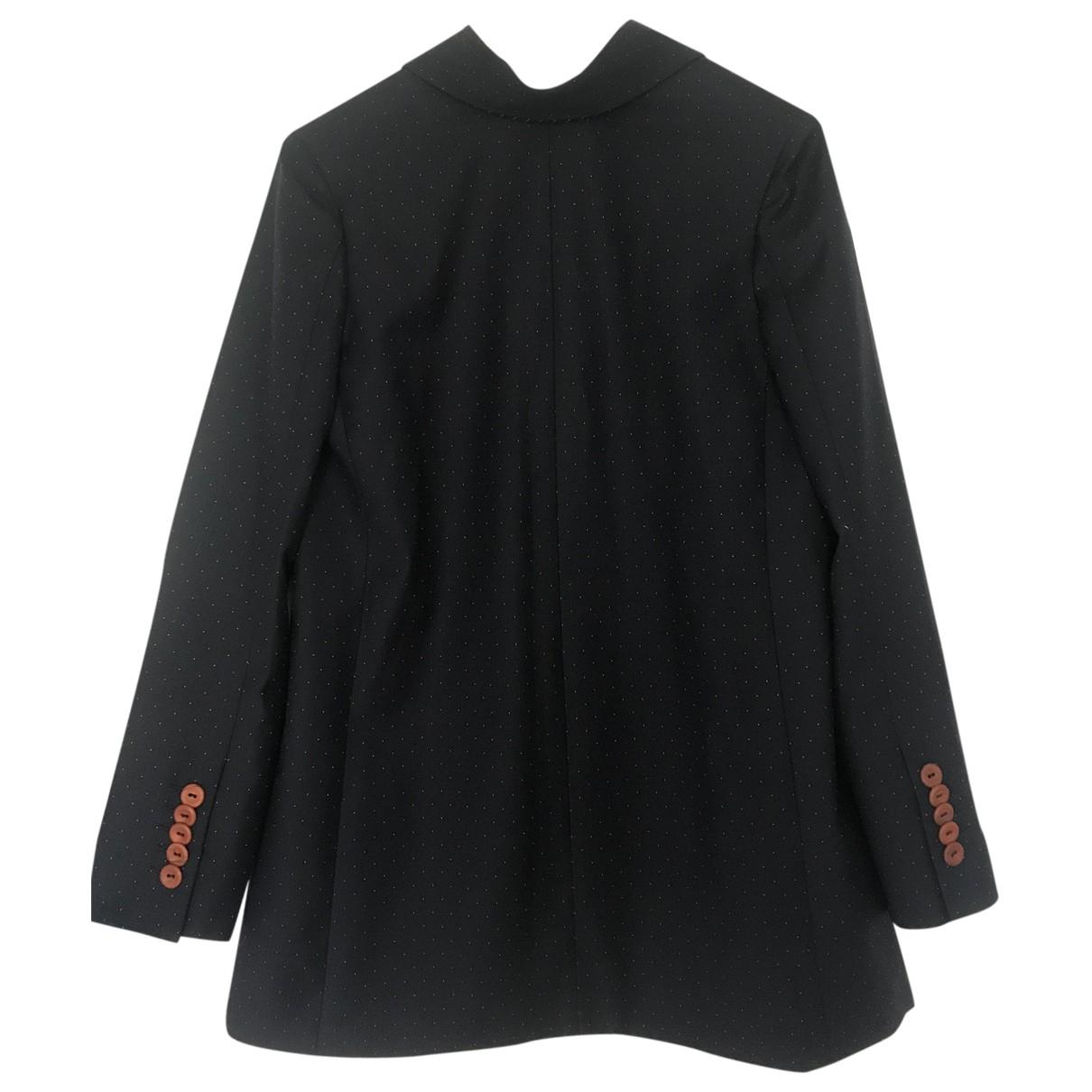 Acne Studios \N Navy Wool dress for Women 34 FR