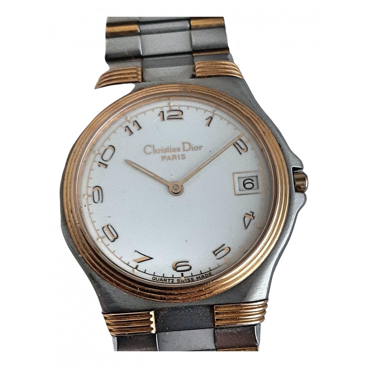 Christian Dior \N White Steel watch for Women \N
