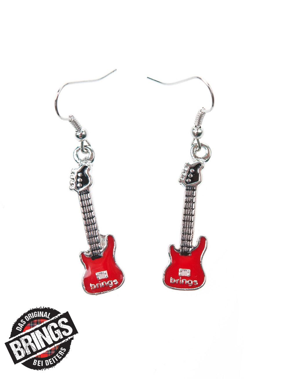 Ohrringe Brings Gitarre silber