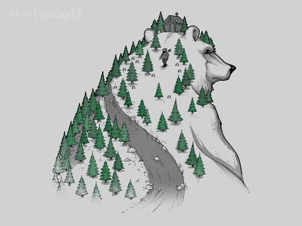 Wild Bear T Shirt