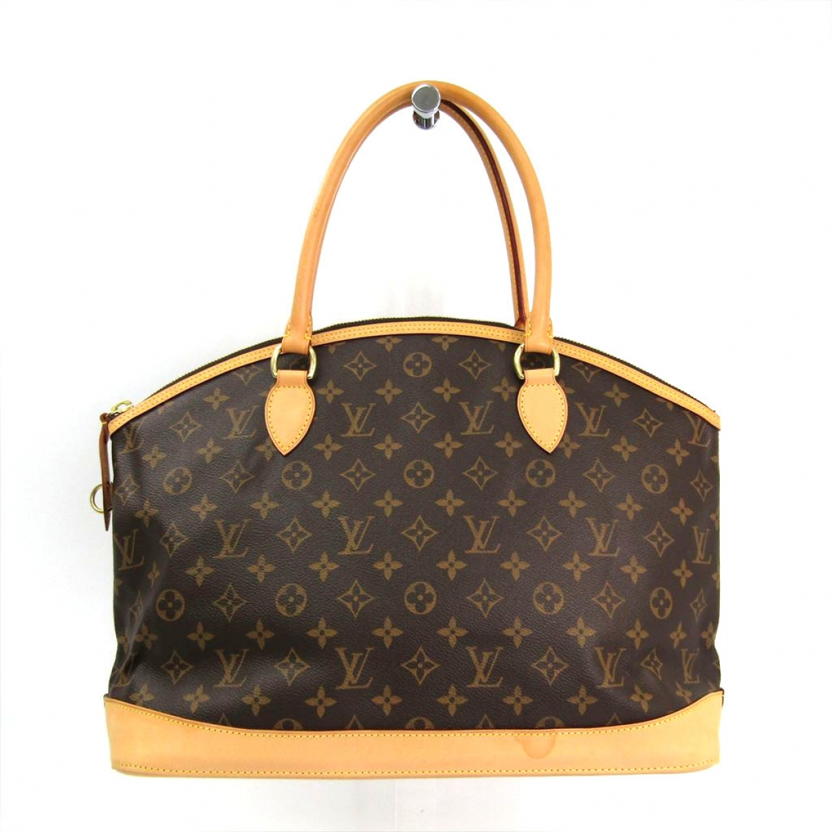 Louis Vuitton Lockit Brown Cloth handbag for Women \N