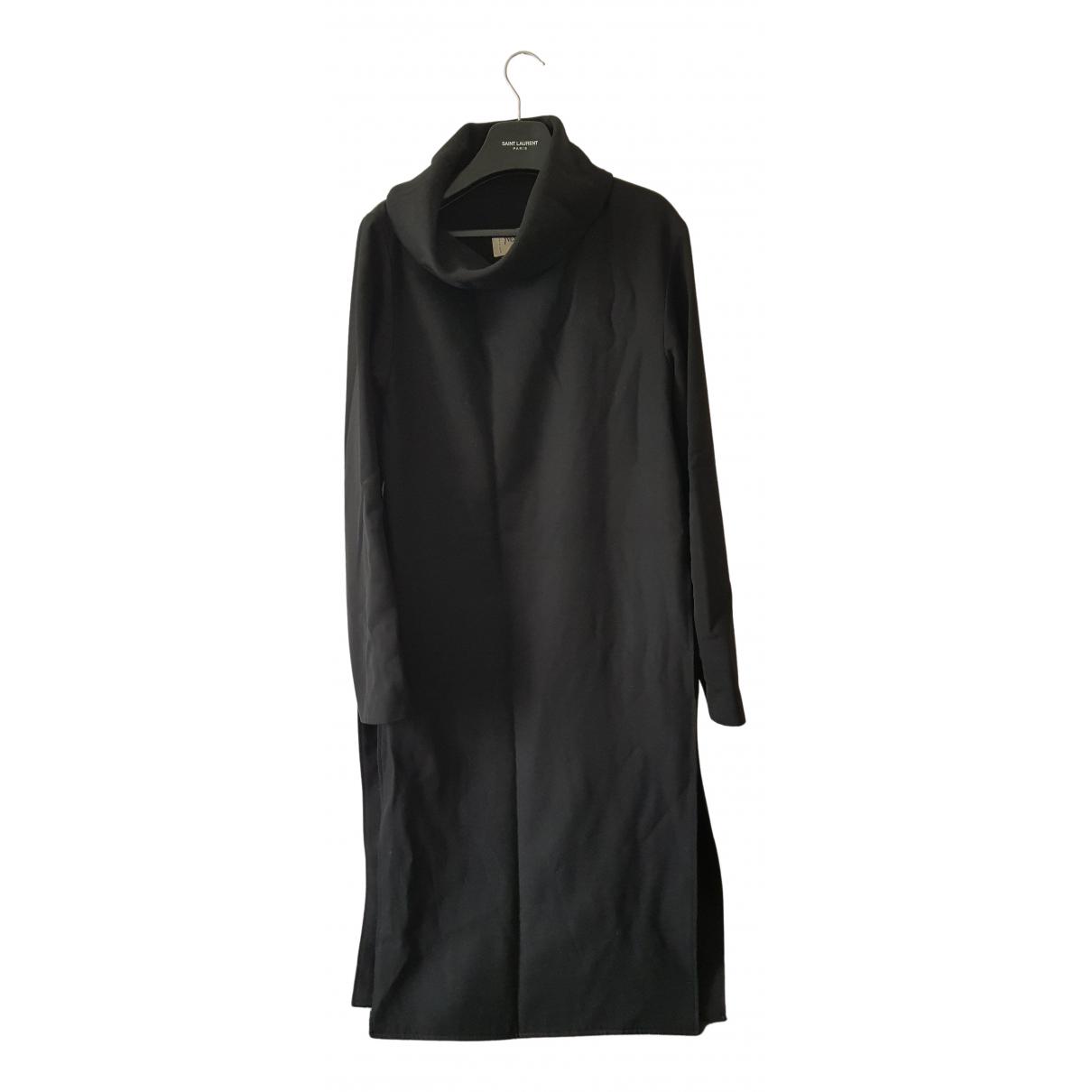 Yves Saint Laurent N Black Wool coat  for Men 50 IT