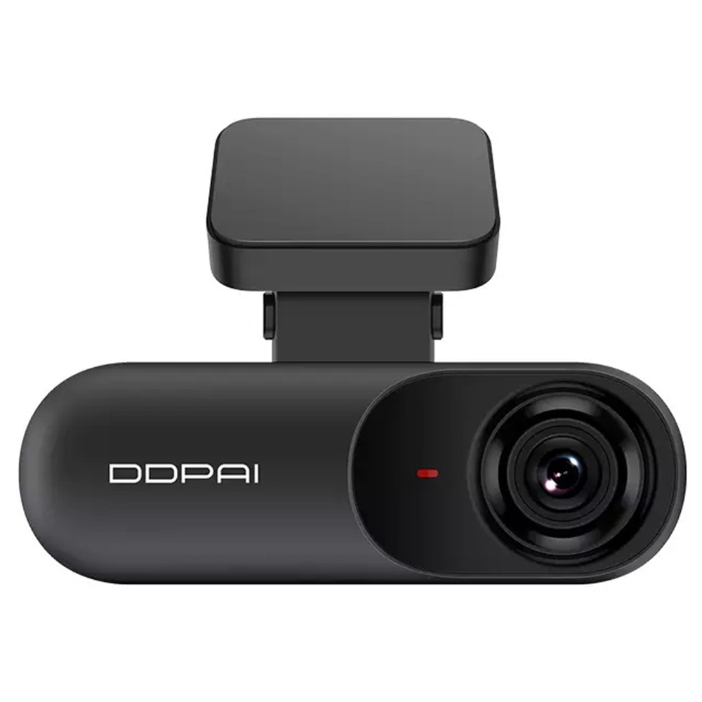 DDPai Mola N3  Car DVR Driving Recorder 1600P HD AI Assistance 140 Degree FOV F1.8 2.4GHz WiFi Loop Recorder Without Card - Black