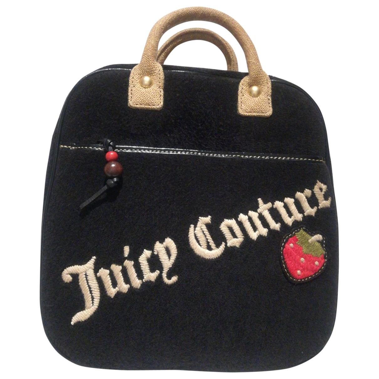 Juicy Couture - Sac de voyage   pour femme en toile - noir