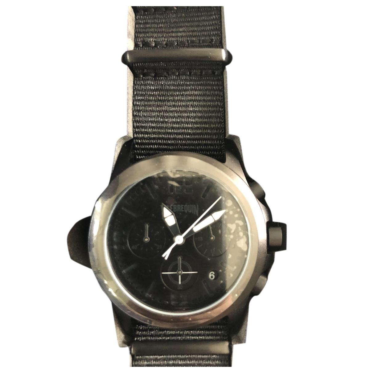 Vilebrequin \N Uhr Schwarz