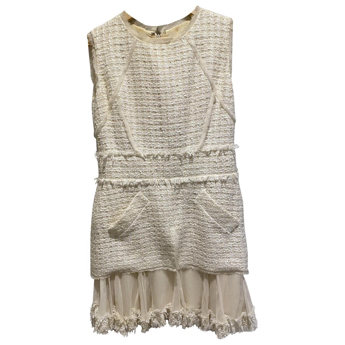 Oscar De La Renta N Tweed dress for Women 8 UK