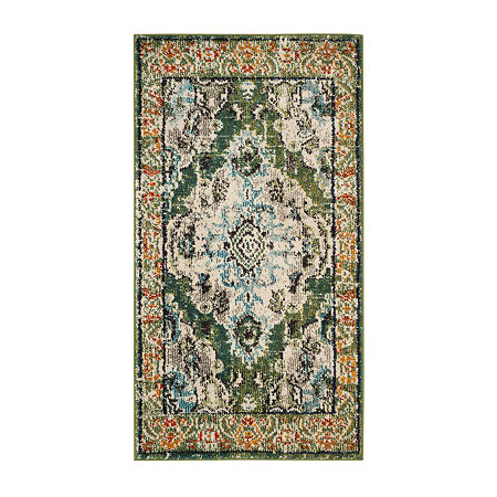 Safavieh Monaco Collection Clotilda Oriental Accent Rug, One Size , Multiple Colors
