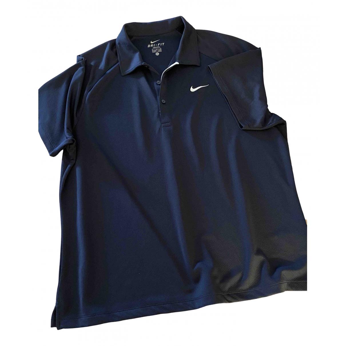 Nike \N Poloshirts in  Marine Polyester