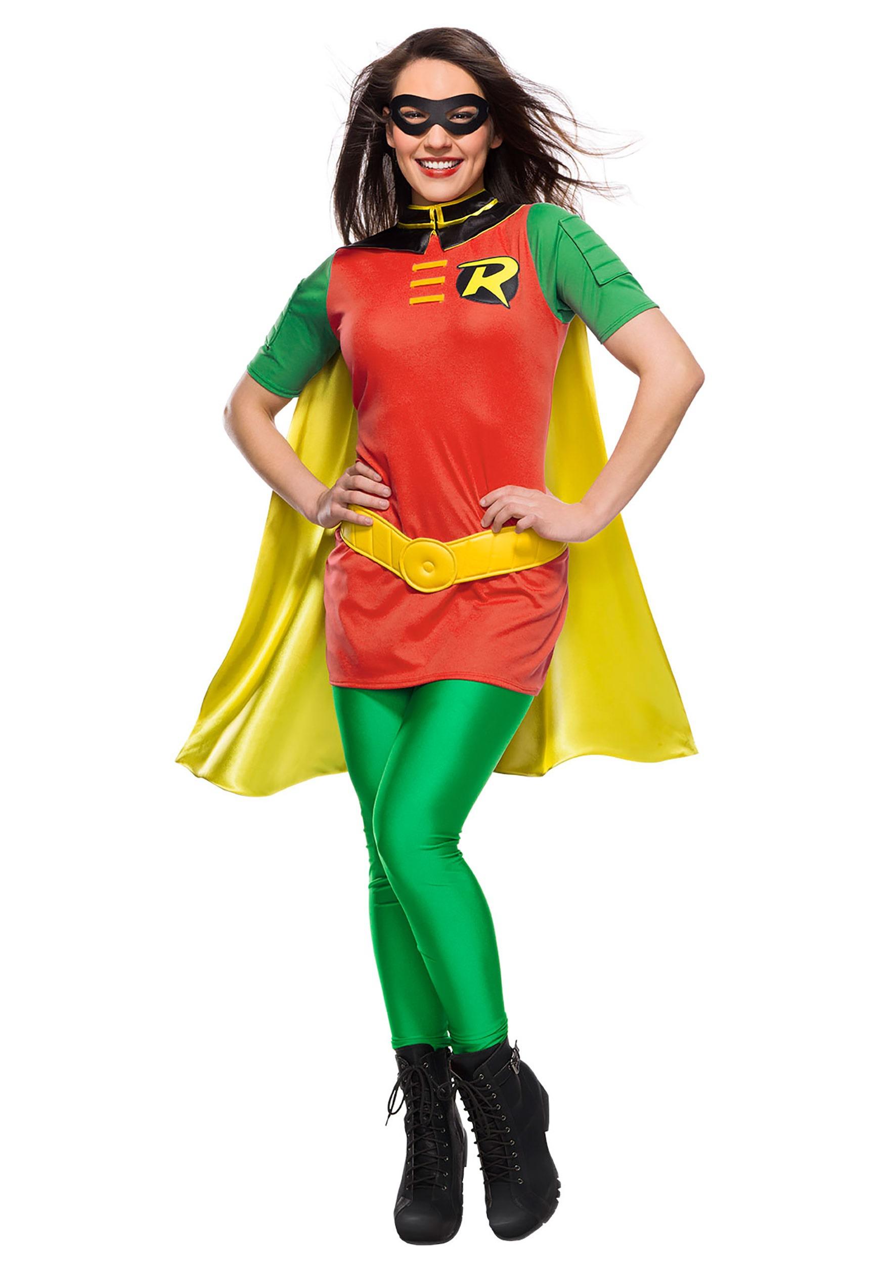 Womens Adult DC Robin Costume