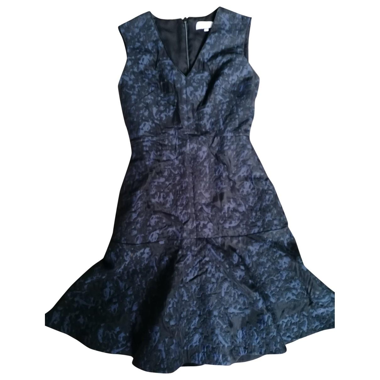 Reiss \N Kleid in  Blau Synthetik