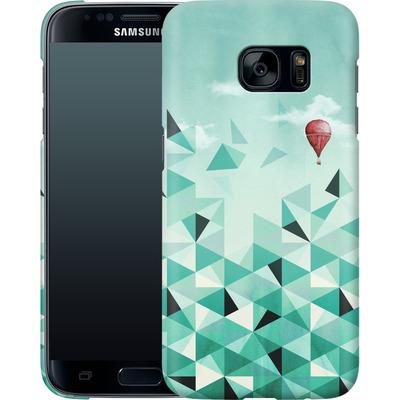 Samsung Galaxy S7 Smartphone Huelle - Emerald City von Little Clyde