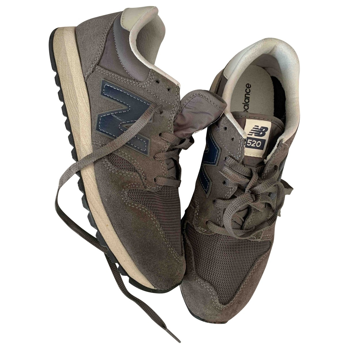 New Balance \N Grey Suede Trainers for Women 7.5 UK