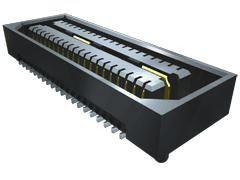 Samtec , QSE 0.8mm Pitch 120 Way 2 Row Straight PCB Socket, Surface Mount, Solder Termination (350)