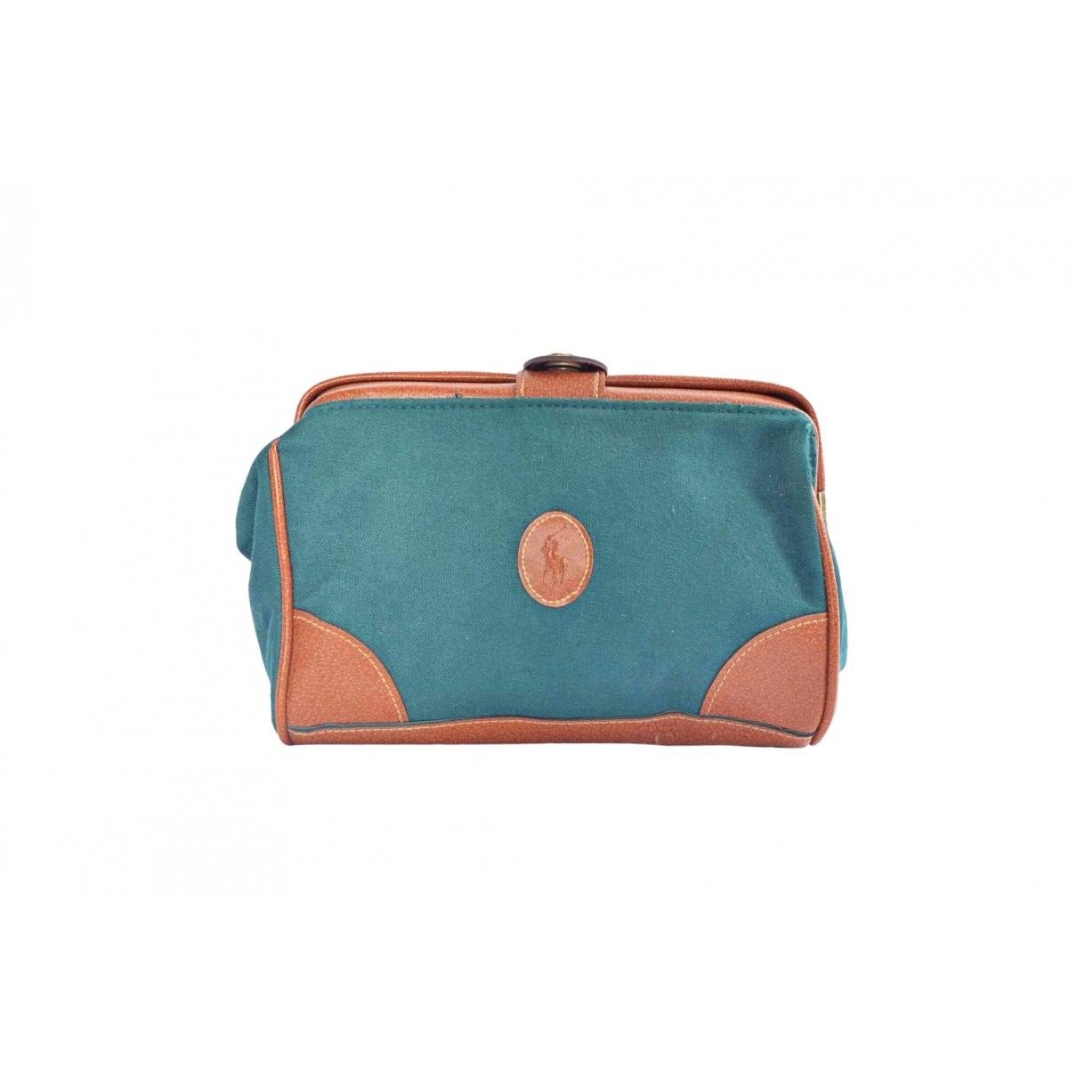 Ralph Lauren - Sac de voyage   pour femme en toile - turquoise