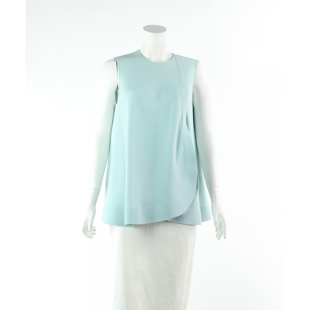 Balenciaga \N Top in  Blau Polyester