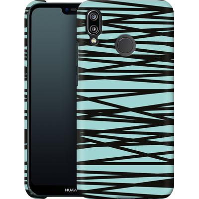 Huawei P20 Lite Smartphone Huelle - Rendezvous Stripe von Khristian Howell