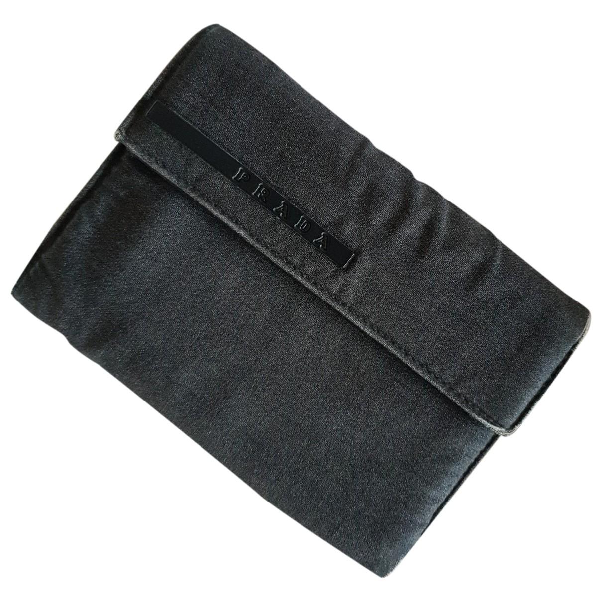 Prada \N Grey Cloth wallet for Women \N
