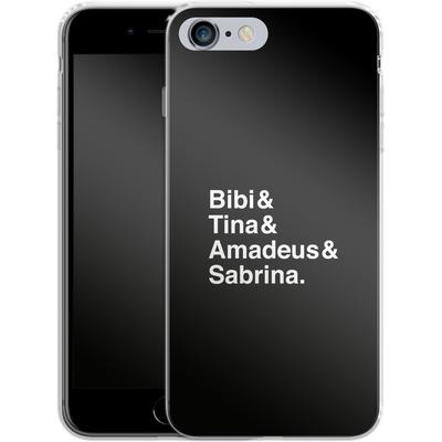 Apple iPhone 6s Plus Silikon Handyhuelle - Bibi&Tina&Amadeus&Sabrina von Bibi & Tina