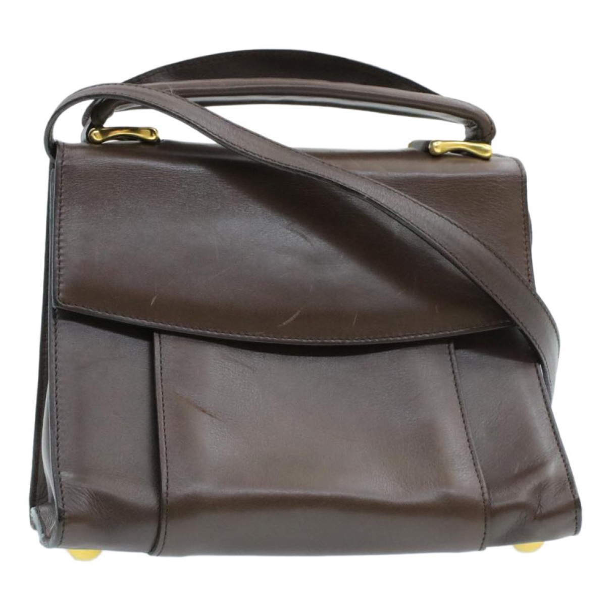 Celine N Brown Leather handbag for Women N