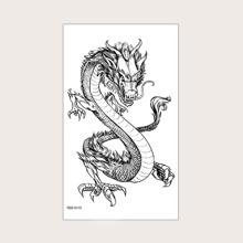 Dragon Pattern Tattoo Sticker