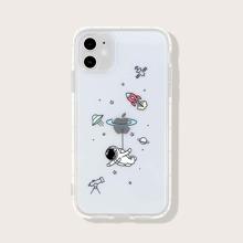 1 Stueck iPhone Schutzhuelle mit Karikatur Grafik