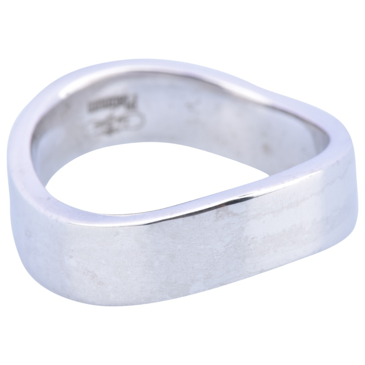 Non Signé / Unsigned Alliance Silver Platinum ring for Women \N