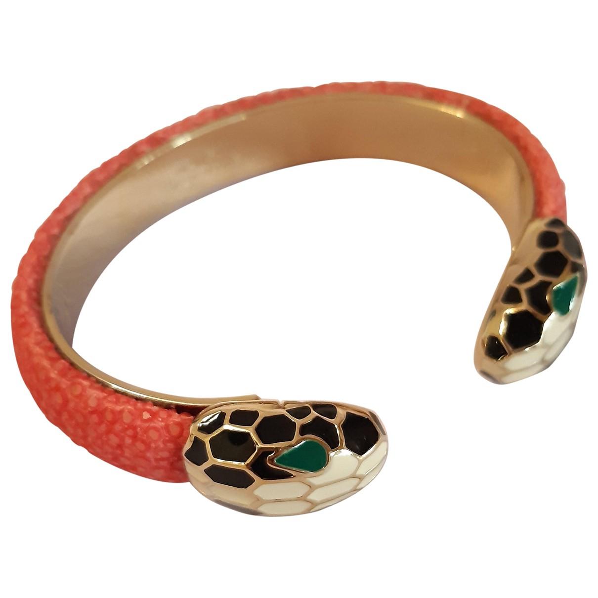 Bvlgari Serpenti Pink Shark bracelet for Women N