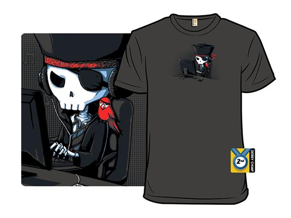 Music Pirate T Shirt