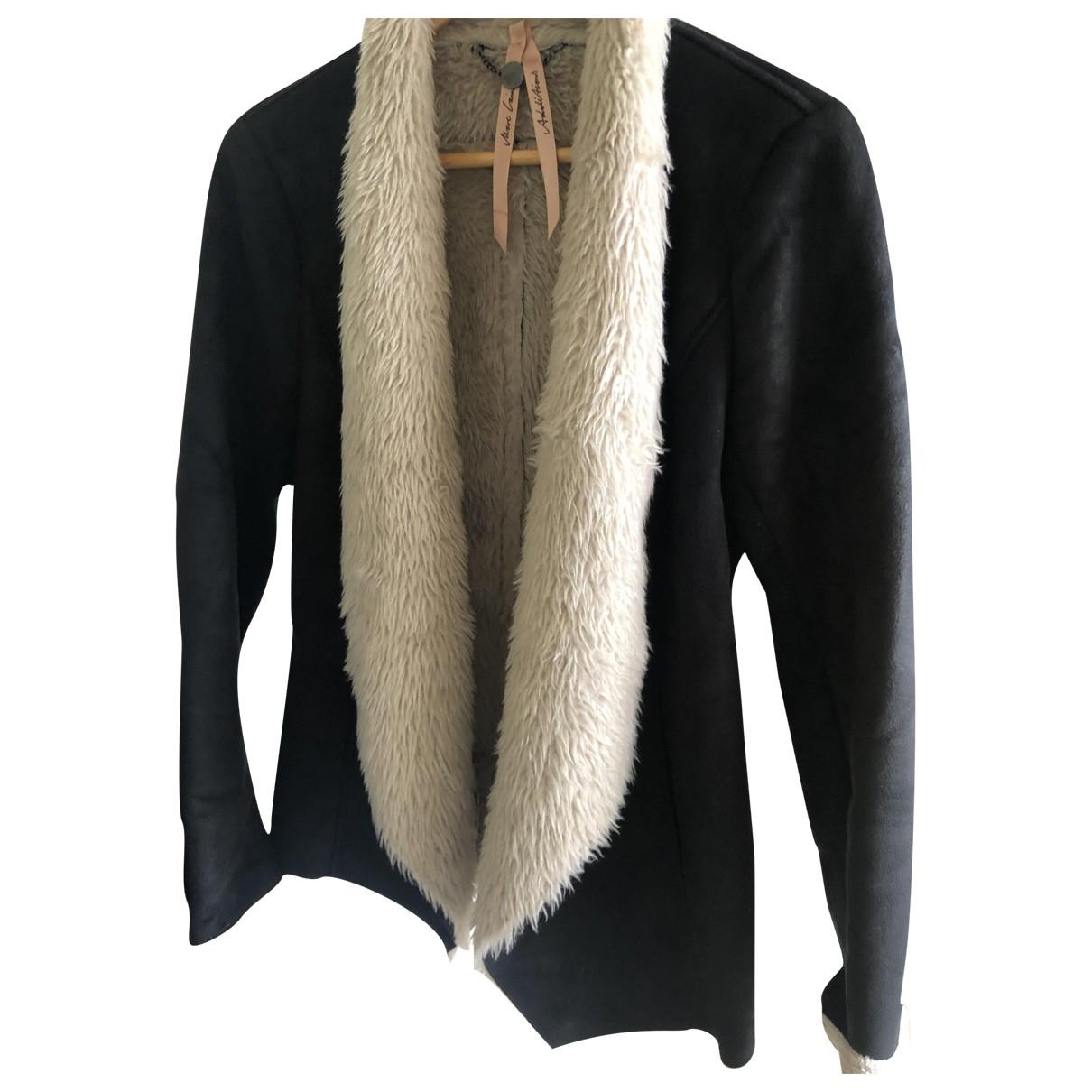 Marc Cain - Veste   pour femme en laine - noir