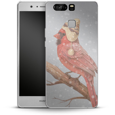 Huawei P9 Silikon Handyhuelle - First Snow von Terry Fan