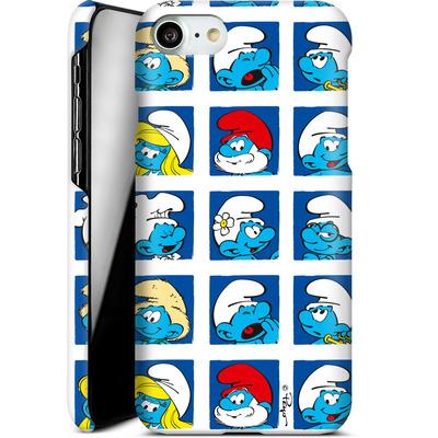 Apple iPhone 7 Smartphone Huelle - Smurf Squares von The Smurfs