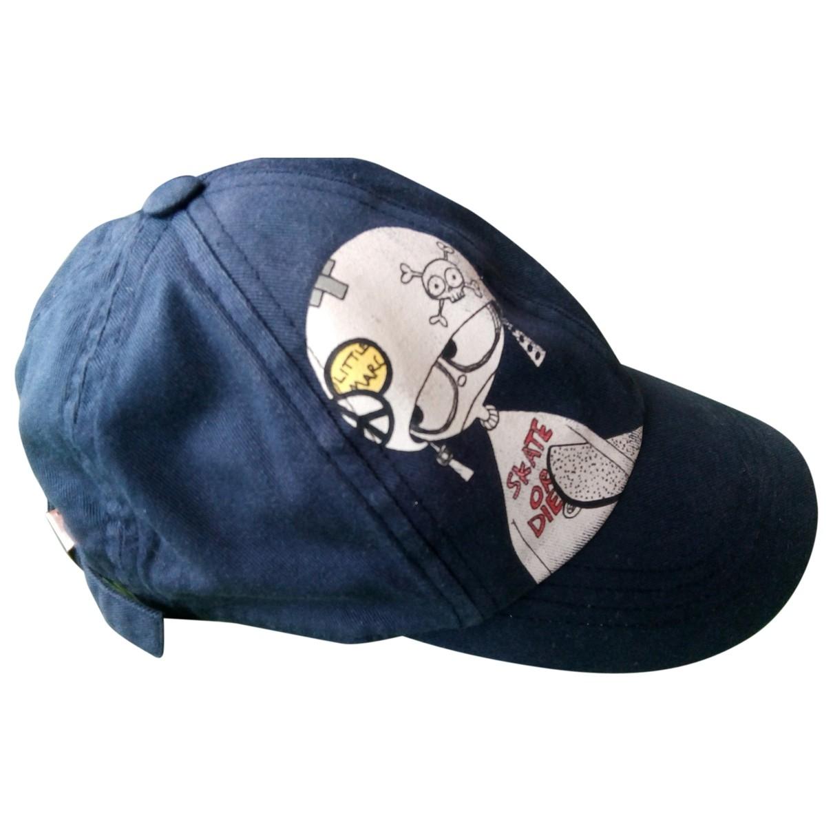 Little Marc Jacobs \N Hut, Muetzen, Handschuhe in  Blau Baumwolle