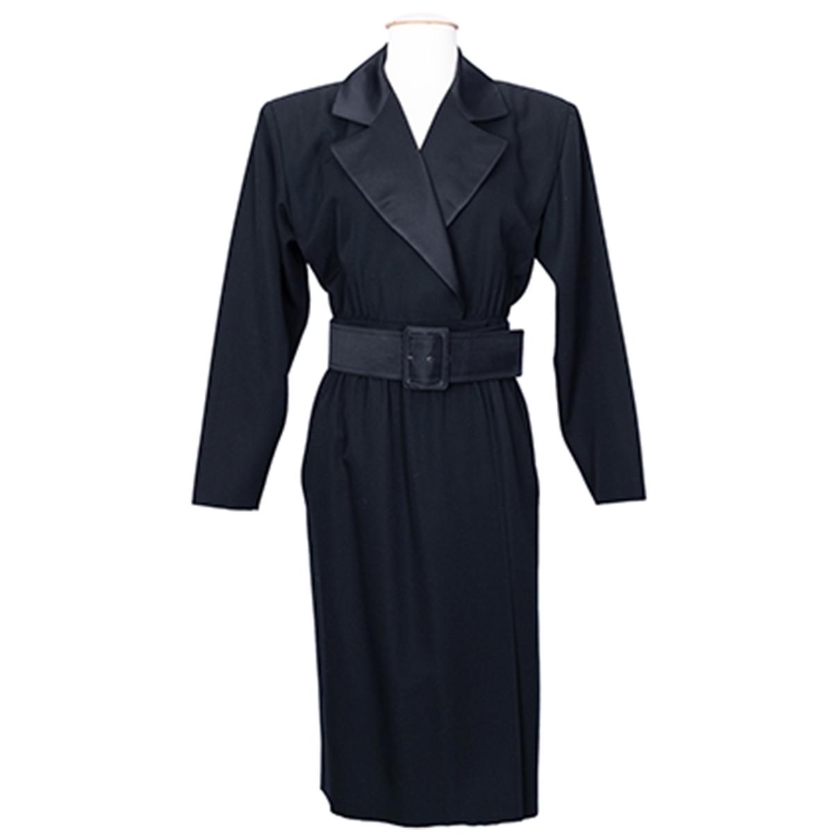 Yves Saint Laurent N Black Wool dress for Women 38 FR