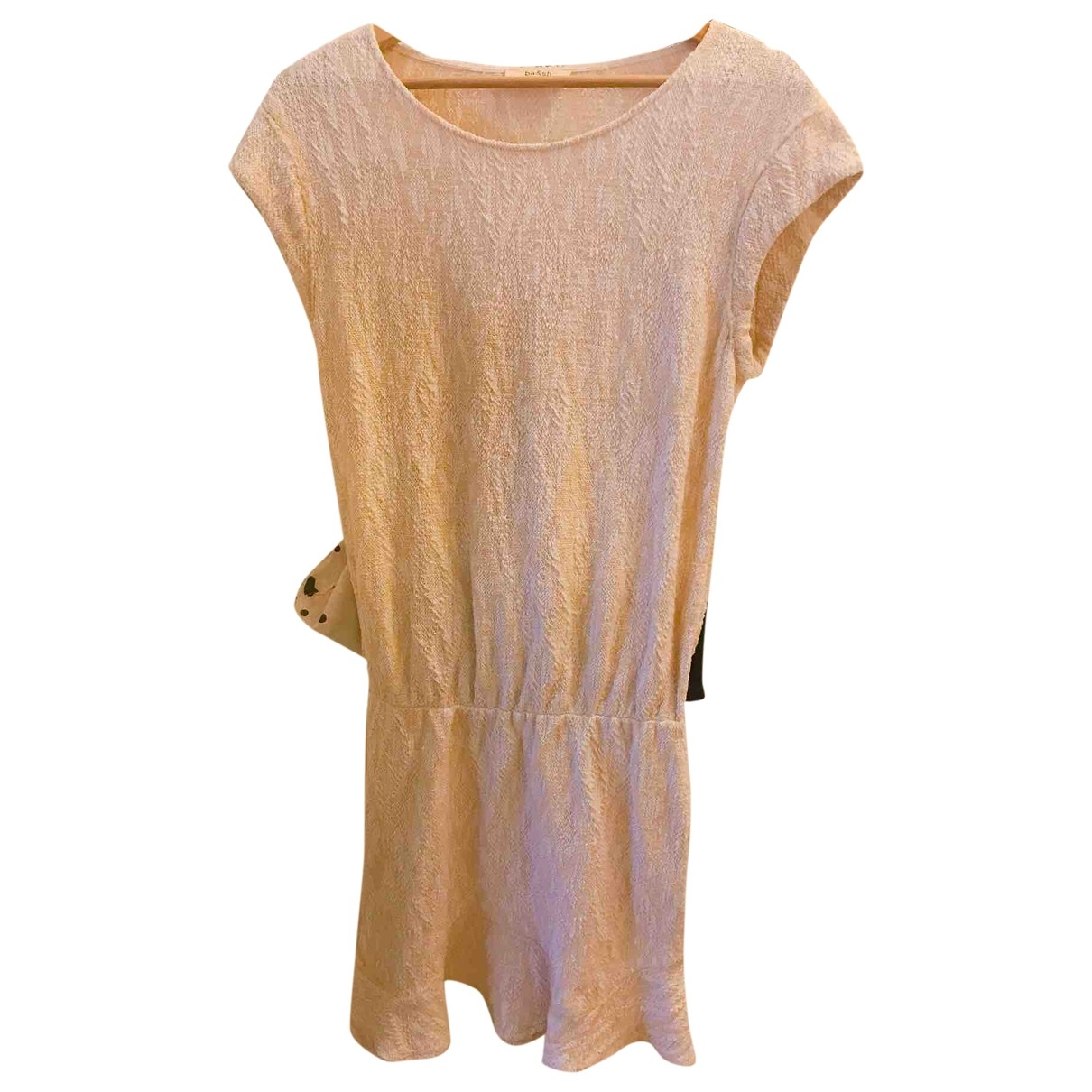 Ba&sh \N Beige Cotton dress for Women 34 FR