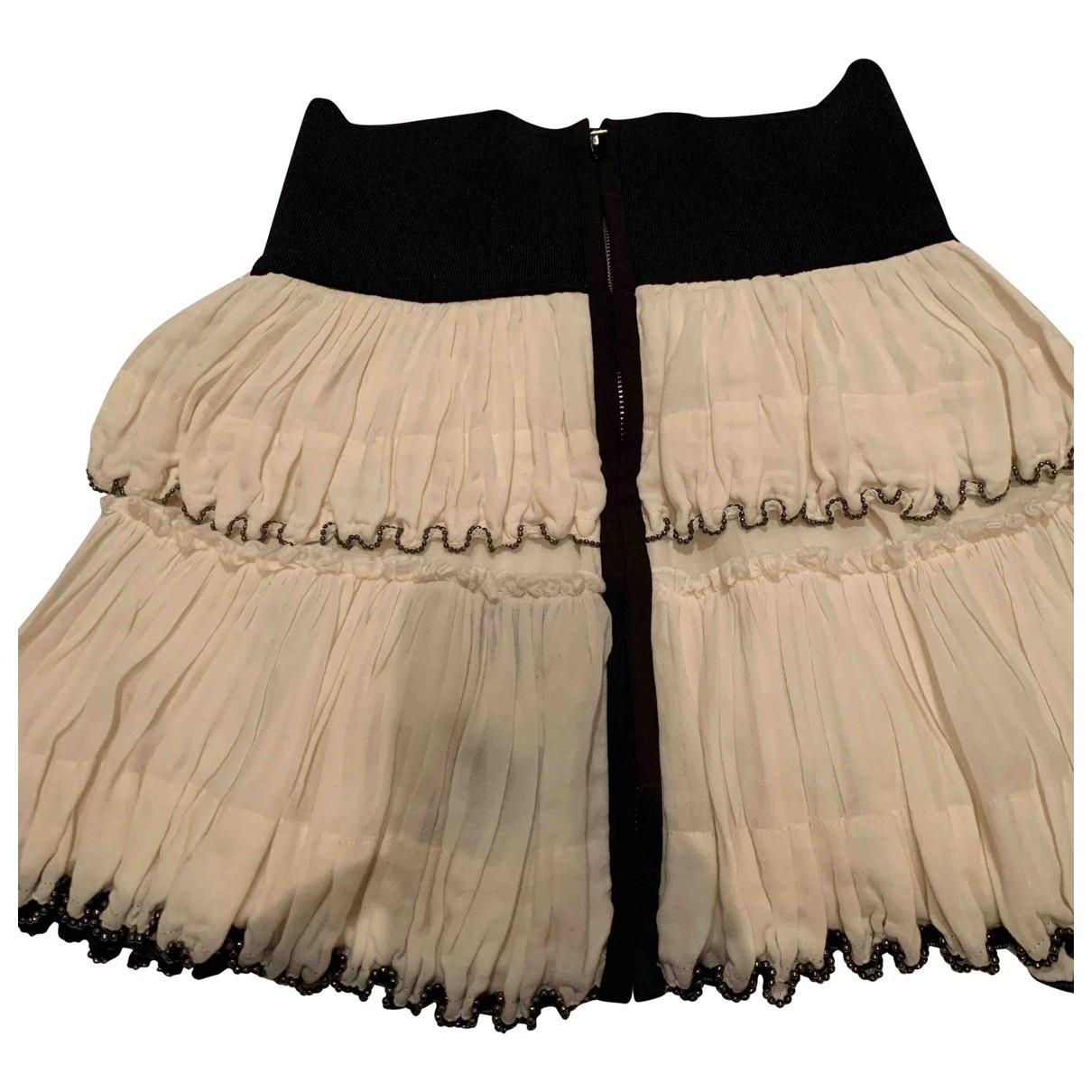Isabel Marant \N Ecru Cotton skirt for Women 40 FR