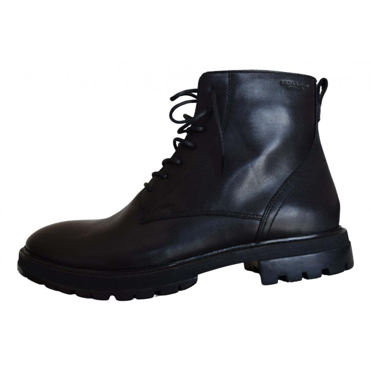 Vagabond \N Stiefel in  Schwarz Leder