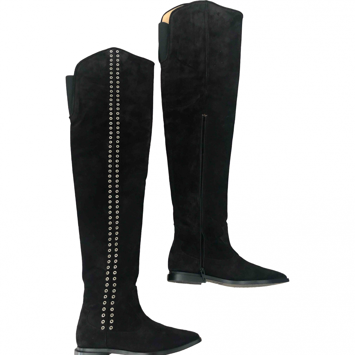 Toga Pulla \N Black Suede Boots for Women 38 EU