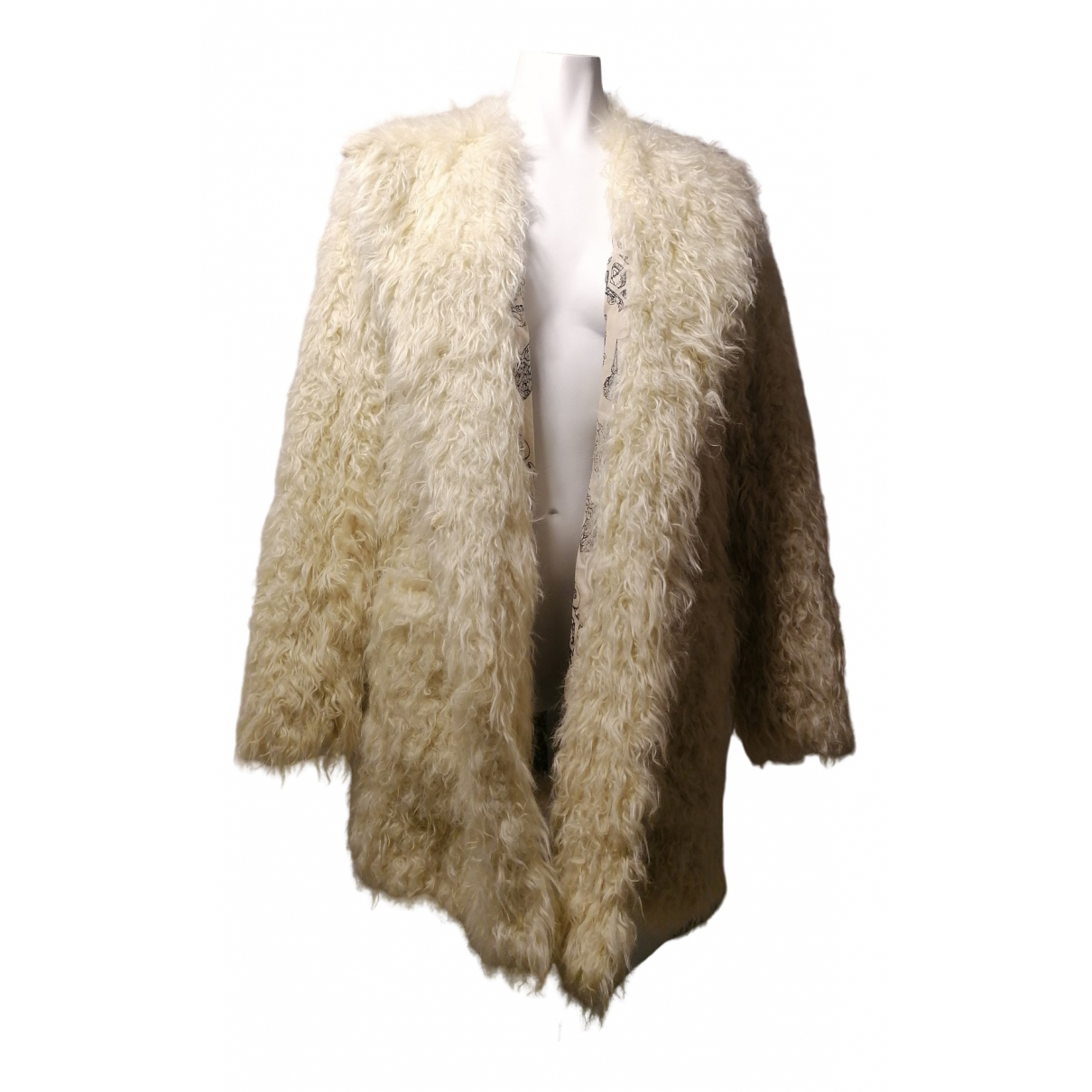 Zadig & Voltaire - Manteau   pour femme en coton - beige