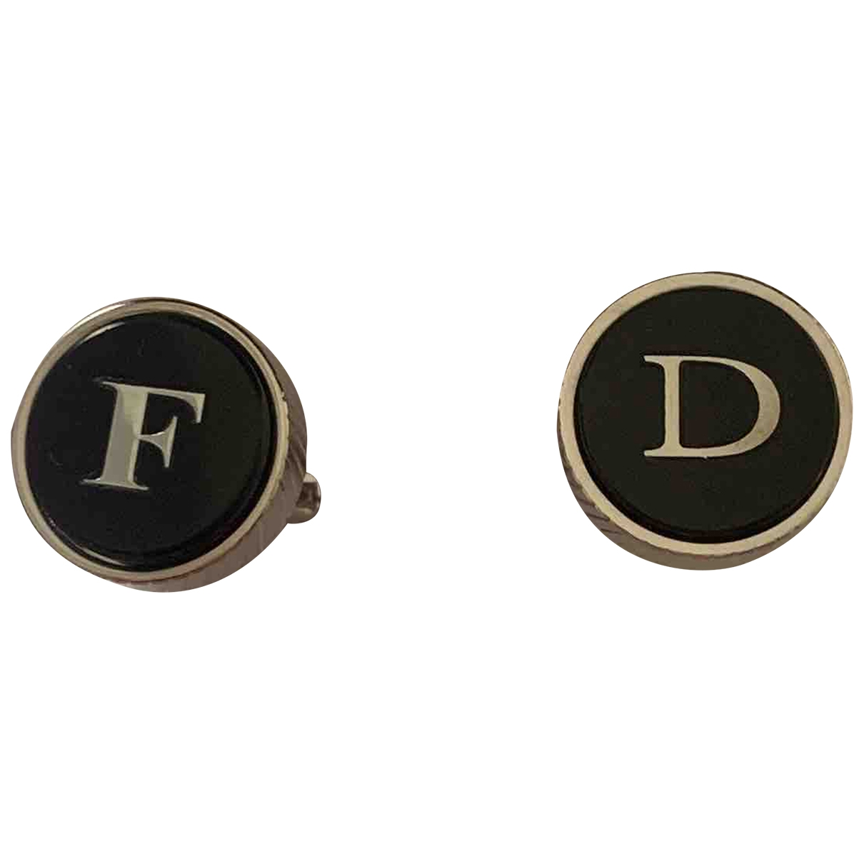 Boggi \N Silver Metal Cufflinks for Men \N