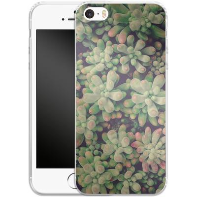 Apple iPhone 5s Silikon Handyhuelle - Kingwood Soft Cactus von Joy StClaire