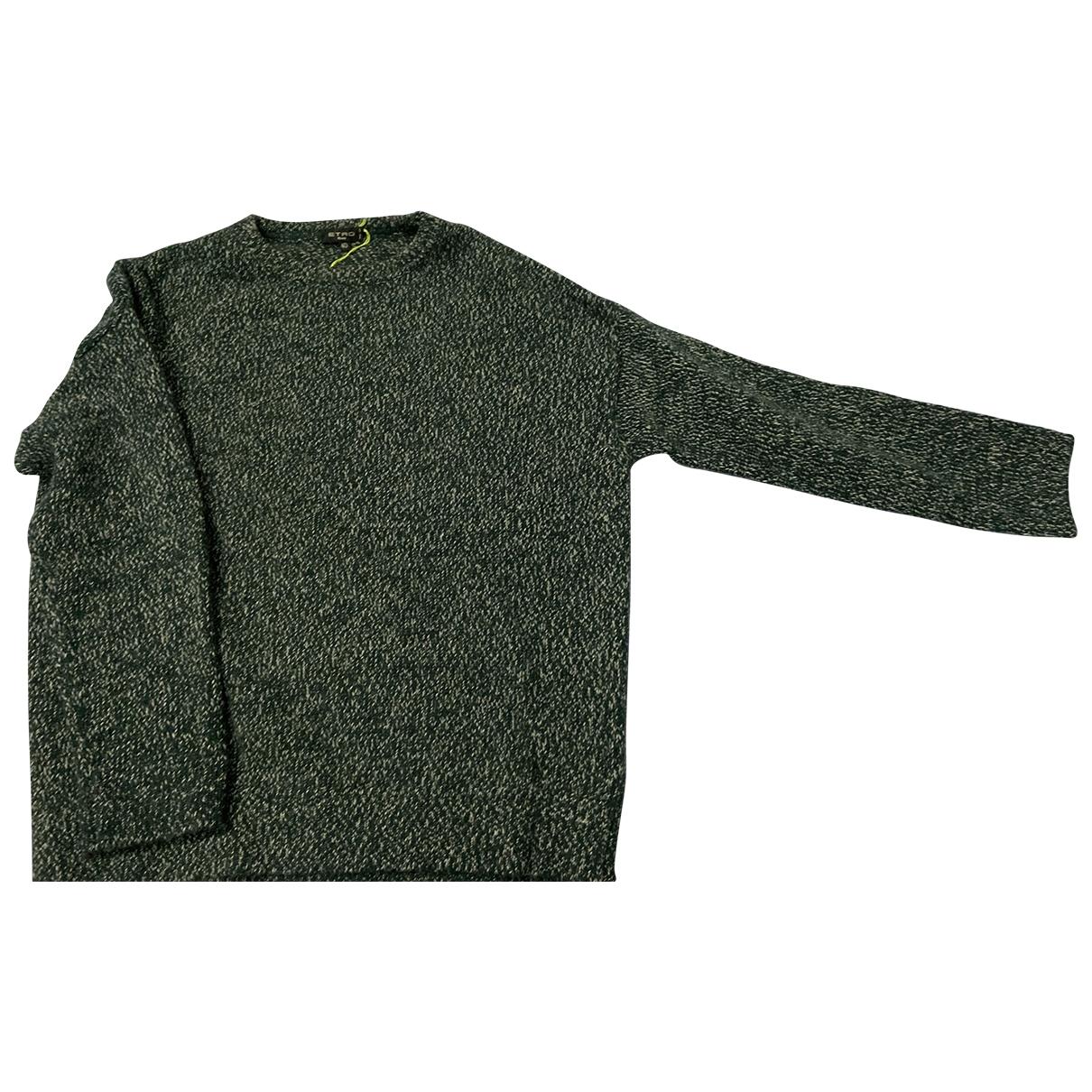 Etro \N Pullover in  Gruen Wolle