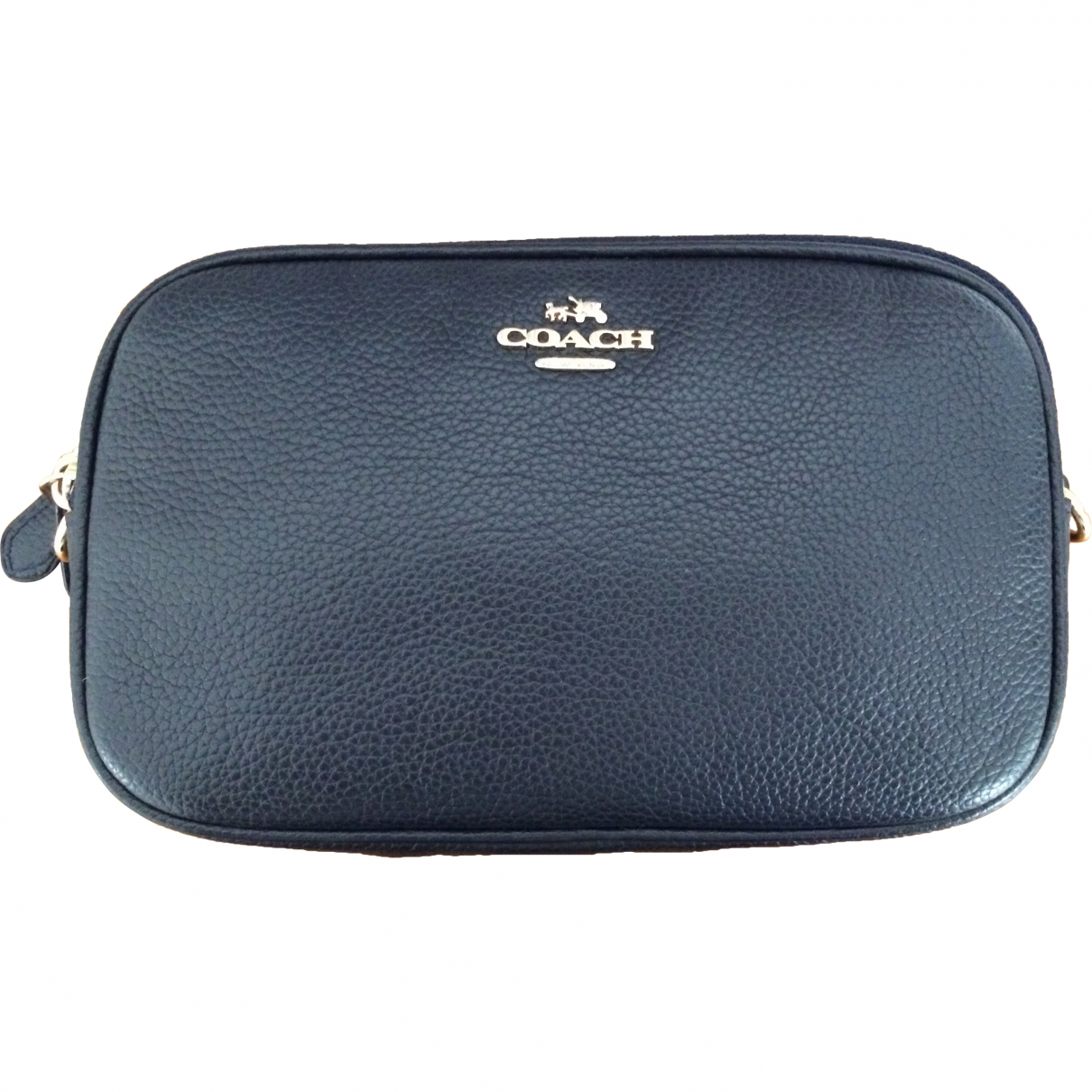 Coach \N Navy Fur handbag for Women \N