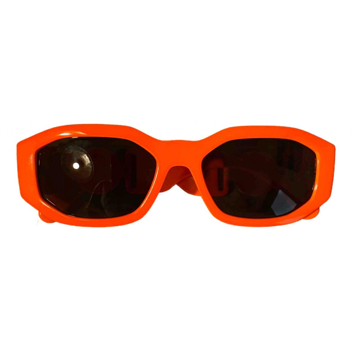 Versace \N Sonnenbrillen in  Orange Kunststoff