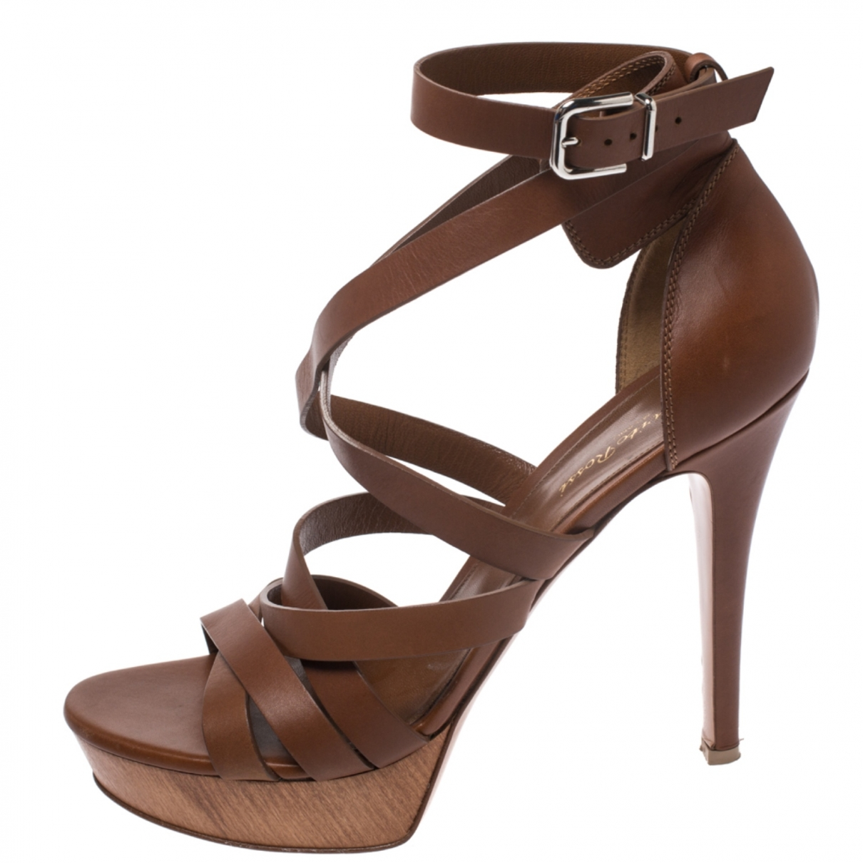 Gianvito Rossi \N Black Leather Sandals for Women 41 EU