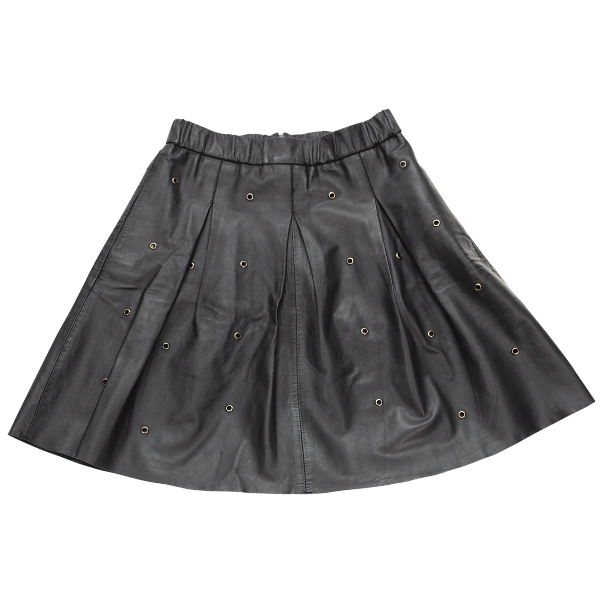 Mini falda de Cuero Essentiel Antwerp